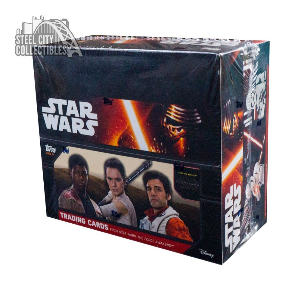 2016 topps star wars force awakens series 1 special hobby