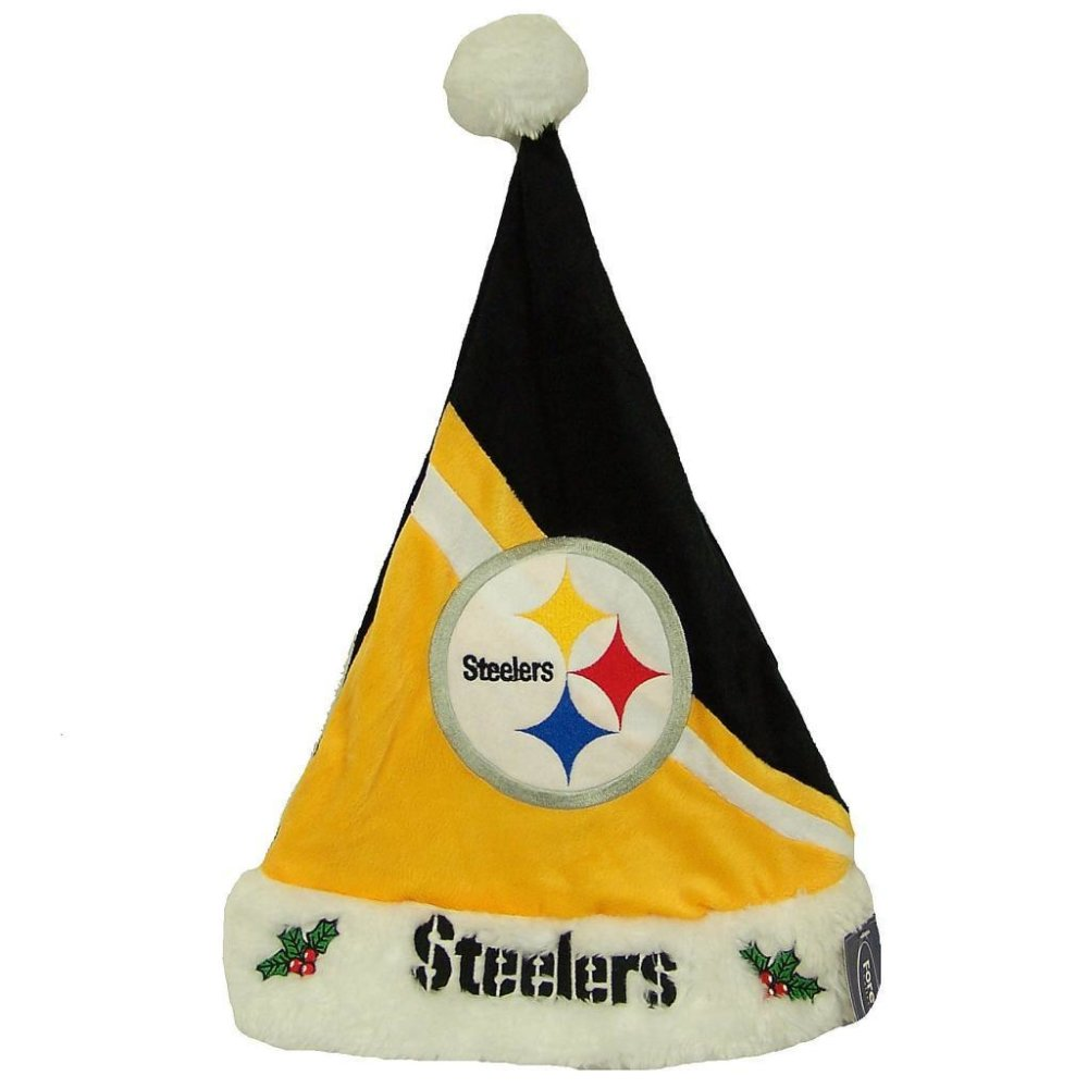 Pittsburgh Steelers Official Christmas Santa Hat 51a1f2777