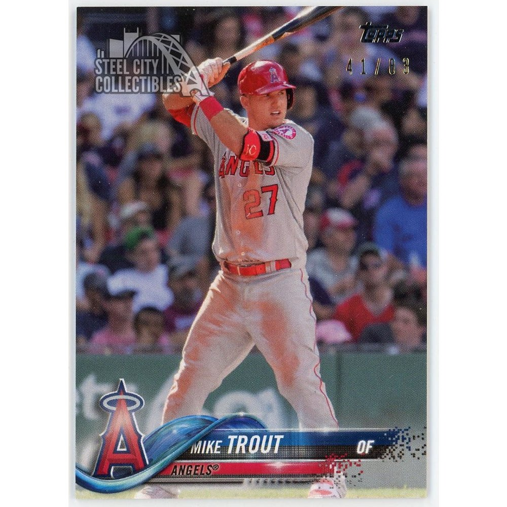 Mike Trout 2018 Topps Transcendent Vip Party Card 2018 Topps 4183