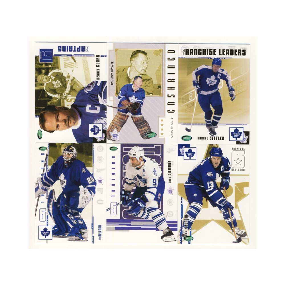 2003-04 Parkhurst Original Six Hockey Toronto Maple Leafs 100-Card ... 3243a7085