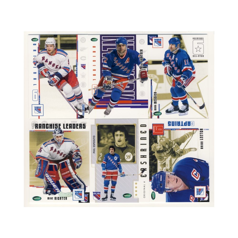 2003-04 Parkhurst Original Six Hockey New York Rangers 100-Card Set e60e17366