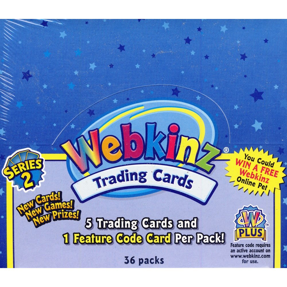 Ganz Webkinz Series 2 Trading Cards Box | Steel City Collectibles