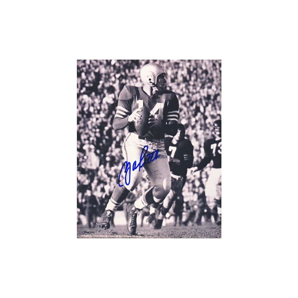 pretty nice 7741b a6daf Y.A. Tittle Autographed Baltimore Colts 8x10 Photo
