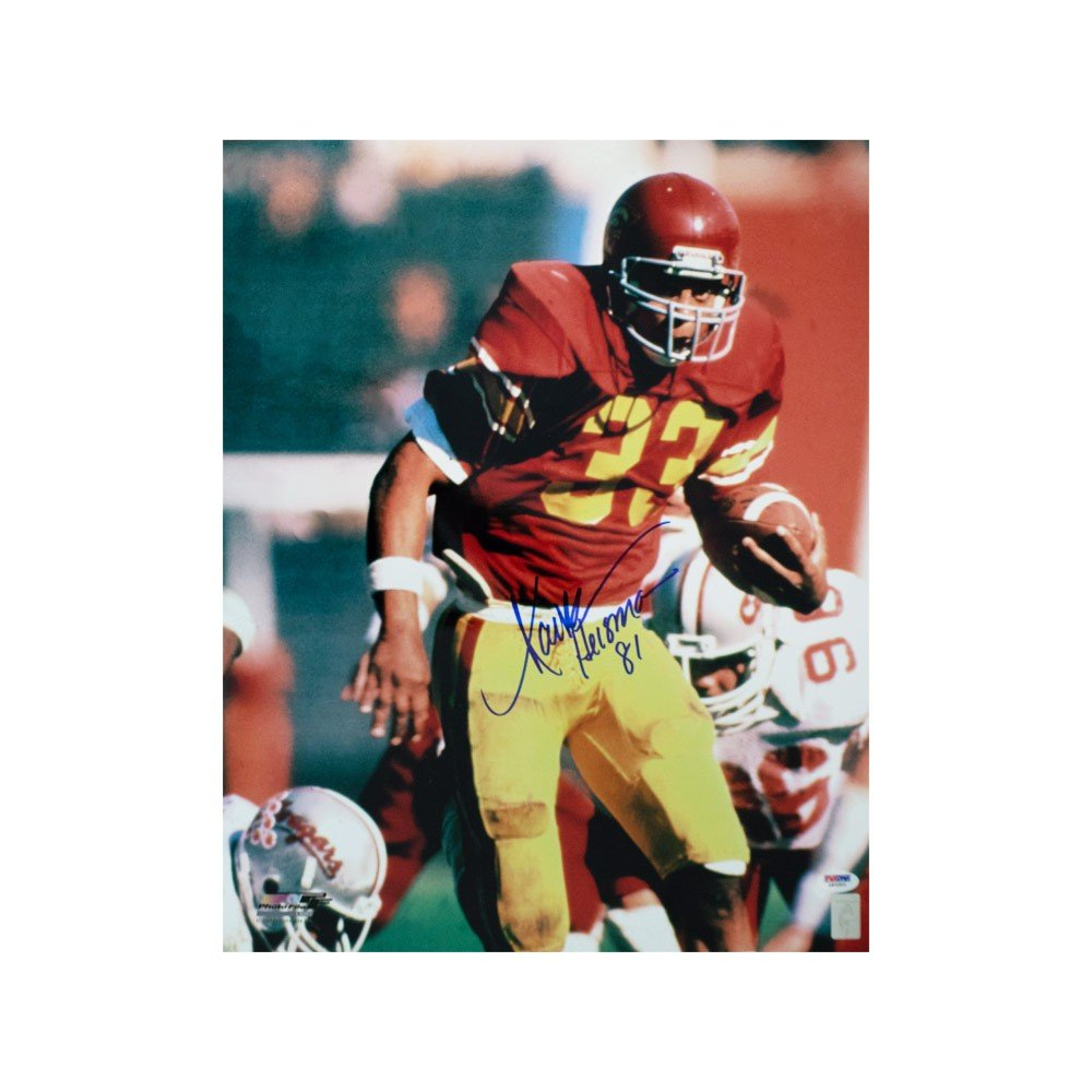 wholesale dealer dcc5c 59be5 Marcus Allen Heisman Autographed USC Trojans 16x20 Photo - PSA/DNA COA (B)