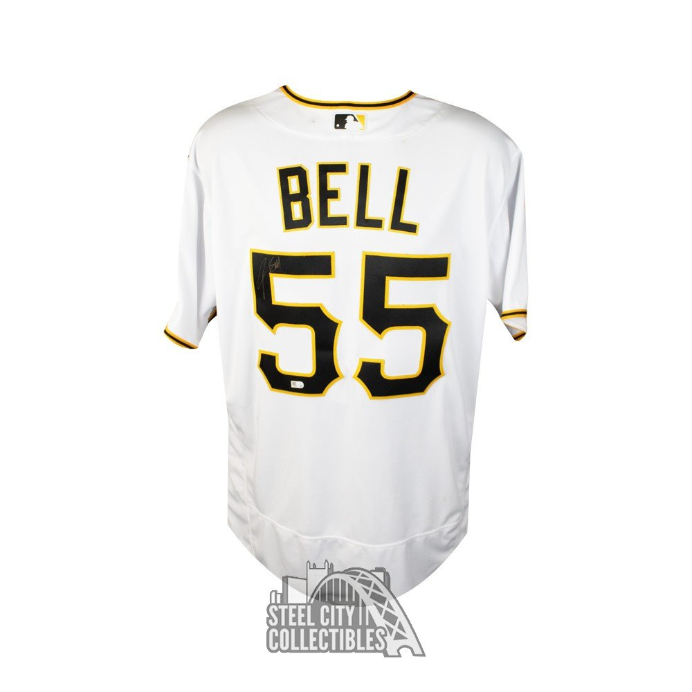 check out 7604c c8417 Josh Bell Autographed Pittsburgh Pirates Authentic Baseball Jersey - MLB  Holo