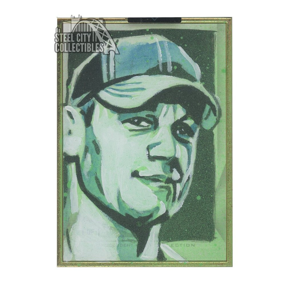 John Cena 2019 Topps Wwe Transcendent Collection Auto Sketch Card 11