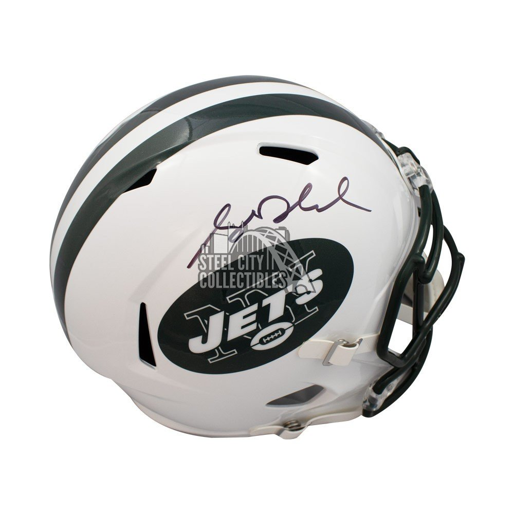 Sam Darnold Autographed New York Jets Full Size Speed Helmet - JSA COA c2c0f29e5