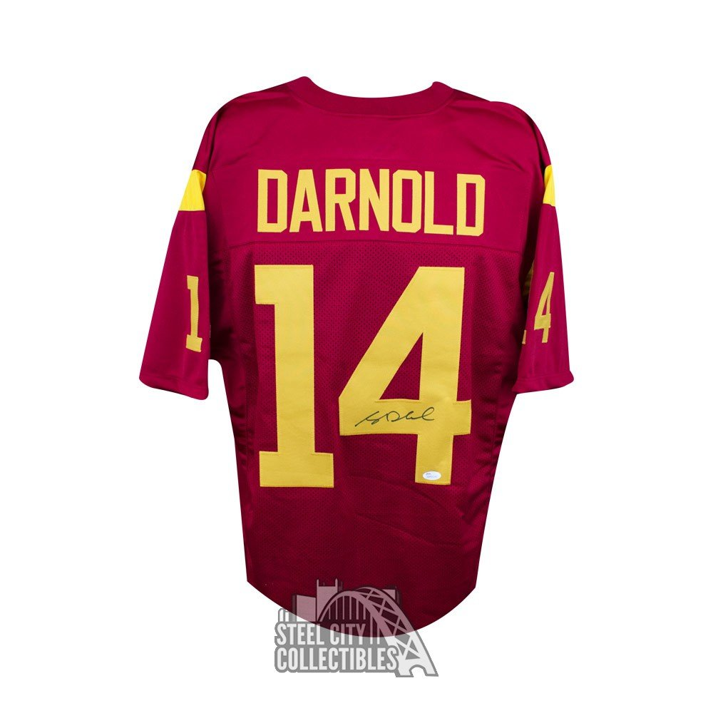 sam darnold signed jersey