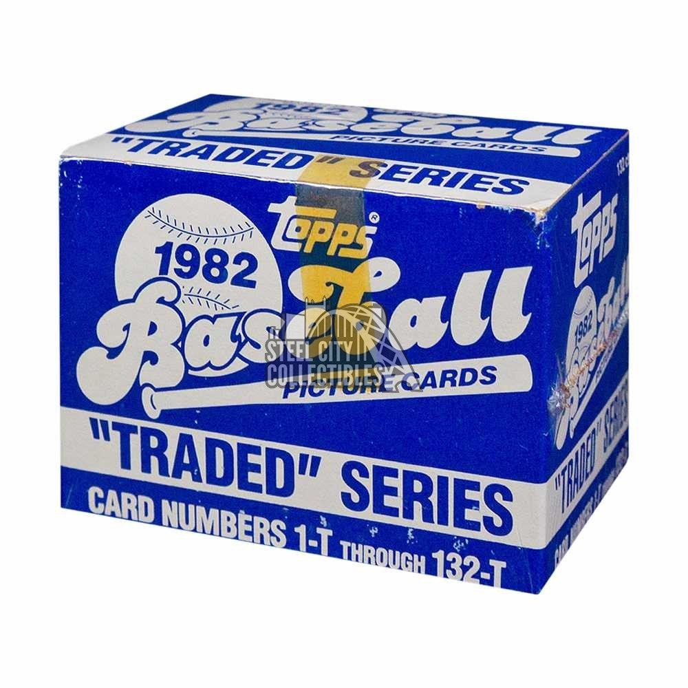 1982 Topps Traded Baseball Factory Sealed Set Steel City Collectibles