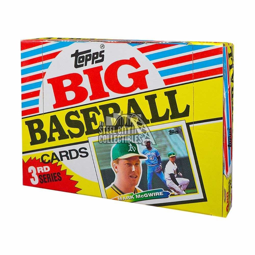 1988 Topps Big Series 3 Baseball Box Steel City Collectibles