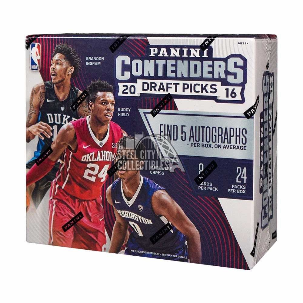 2016-17 Panini Contenders Draft Picks Collegiate Basketball Autographs and Signed Memorabilia