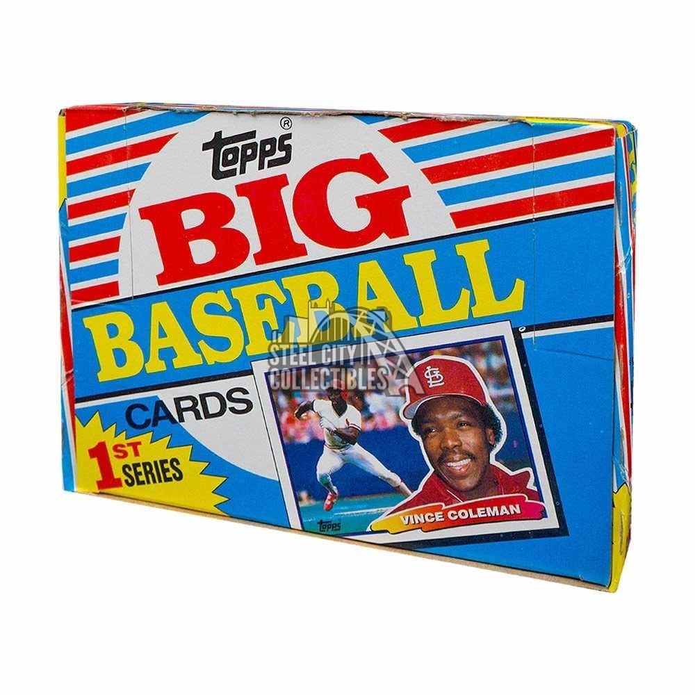1988 Topps Big Series 1 Baseball Box Steel City Collectibles