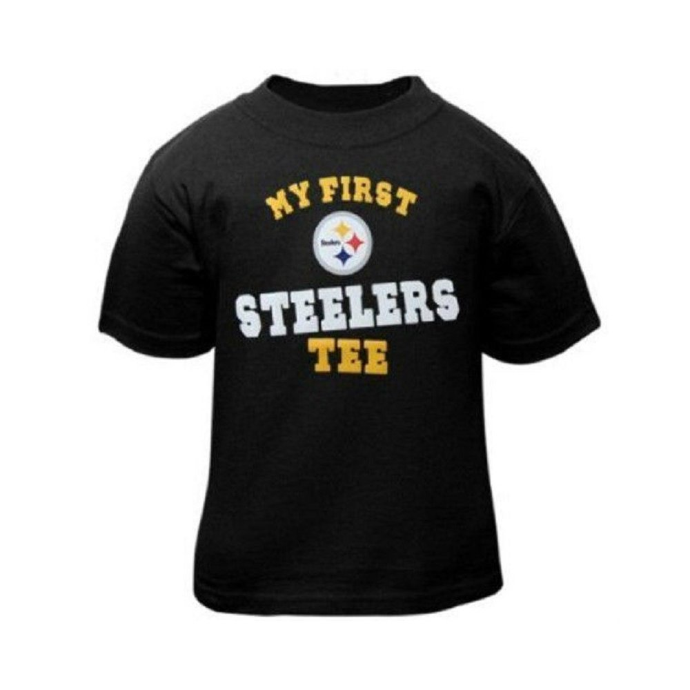 brand new 33d27 01a49 Pittsburgh Steelers Reebok NFL Toddler My First Steelers Tee T-Shirt