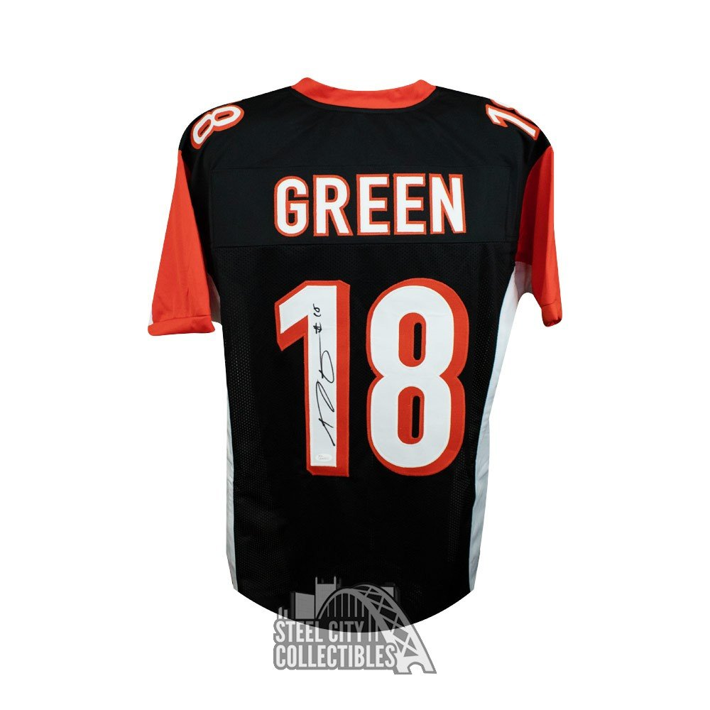 aj green autographed jersey