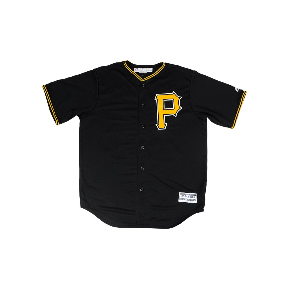 pretty nice b4183 16041 Gregory Polanco Autographed Pittsburgh Pirates Majestic Cool ...