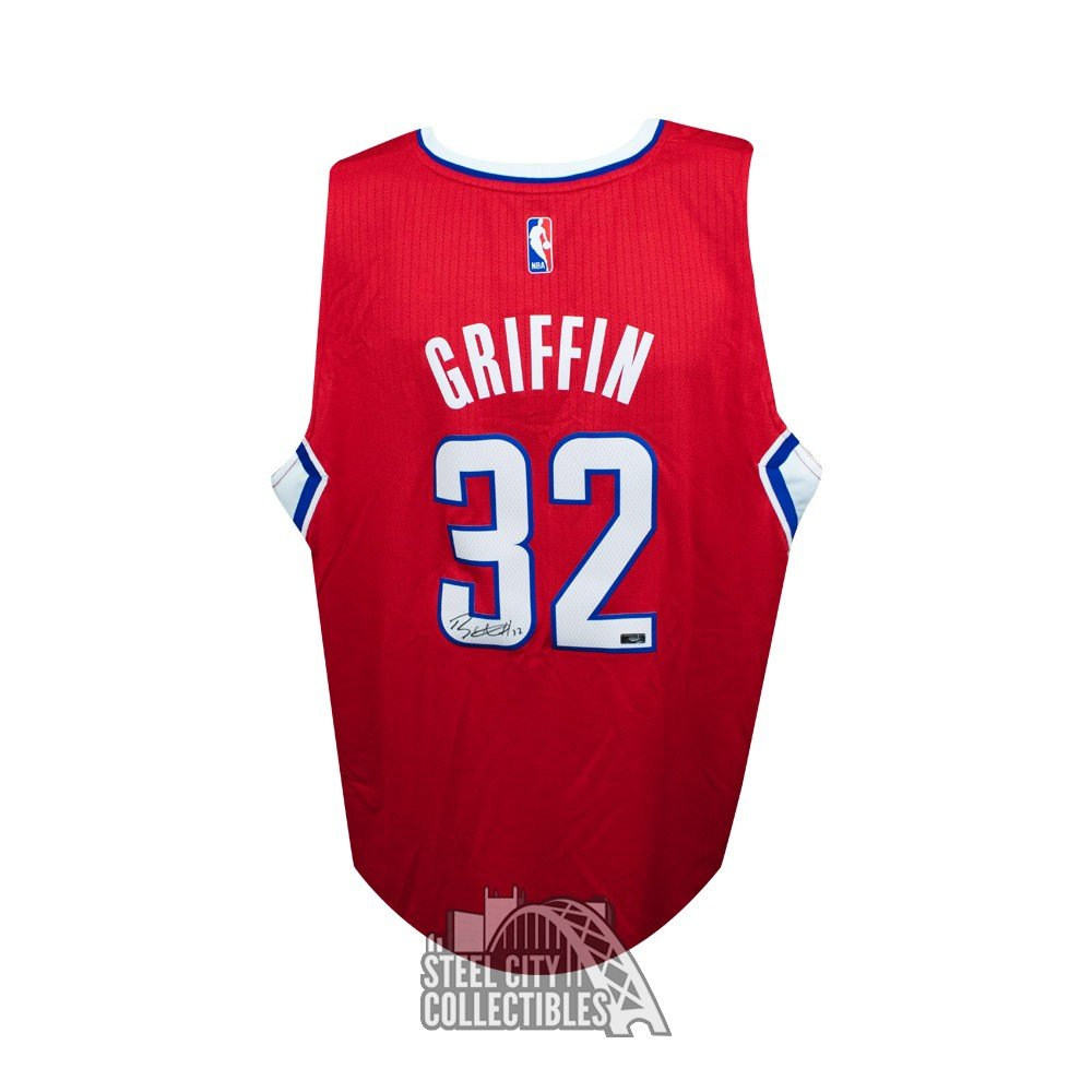 f5ab0e85fd0 ... reduced blake griffin autographed los angeles clippers swingman basketball  jersey panini fa191 4b6d6