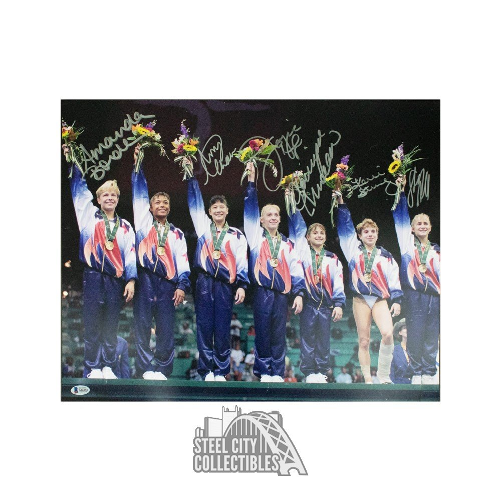 1996 Gymnastics Autographed 16x20 Photo Autographs and Signed Memorabilia