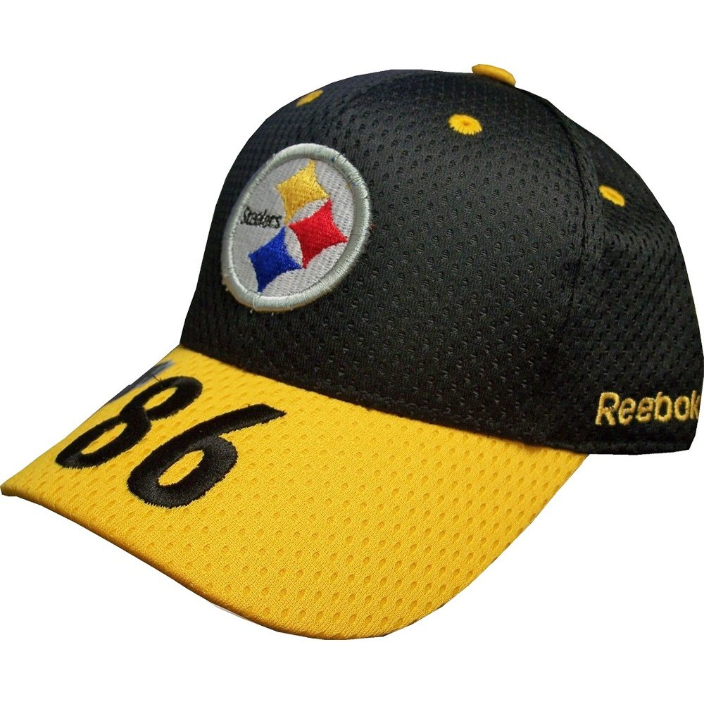 53fdfc3bd92de Pittsburgh Steelers Hines Ward 86 NFL Reebok Black Gold Hat - Youth One  Size Fits Most