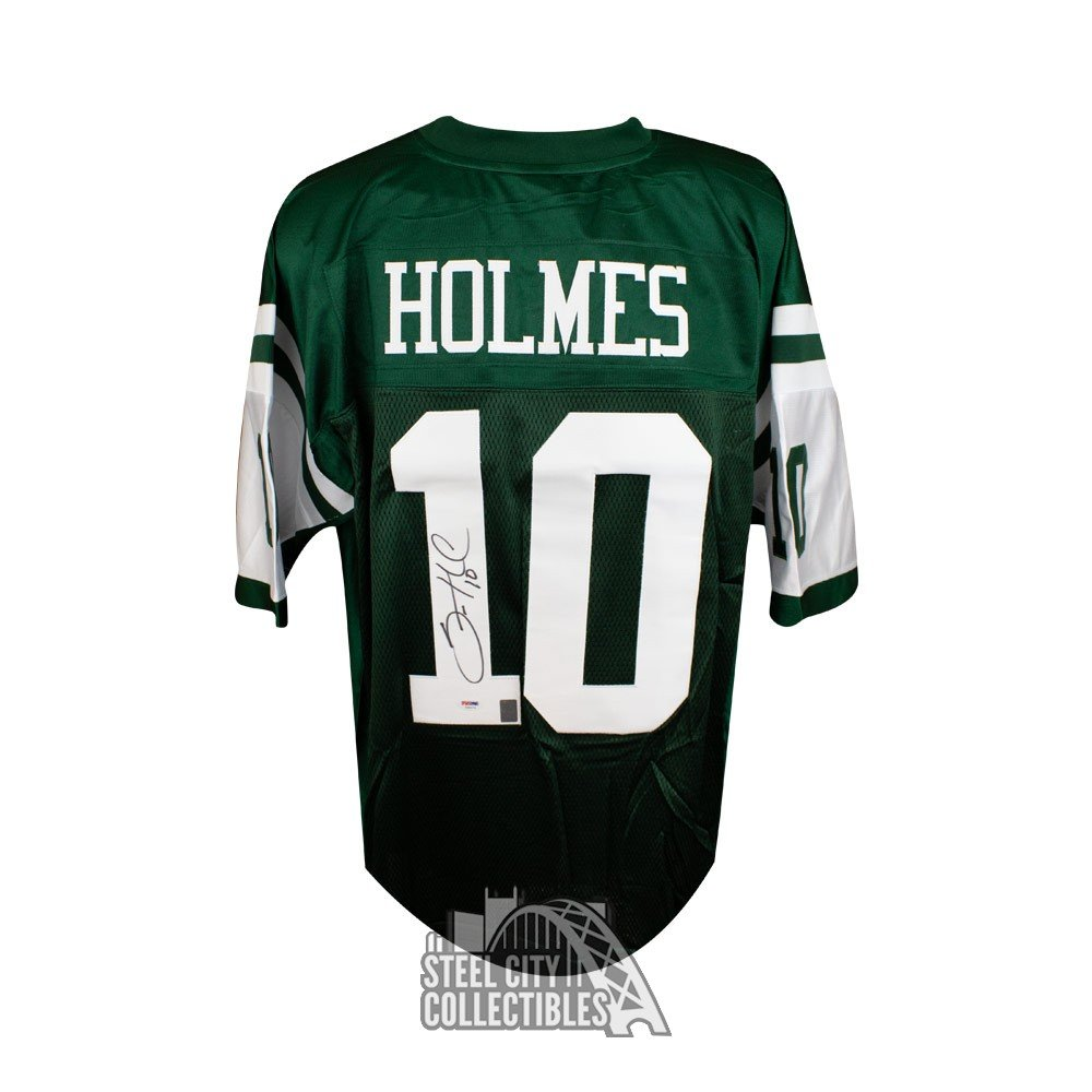 3df99cf3 Santonio Holmes Autographed New York Jets Authentic Football Jersey -  PSA/DNA