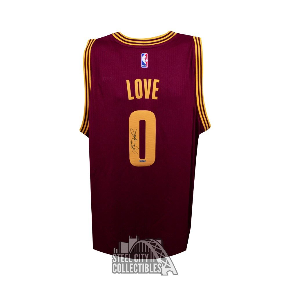 be5b2298882 Kevin Love Autographed Cleveland Cavaliers Away Swingman Jersey - Upper  Deck