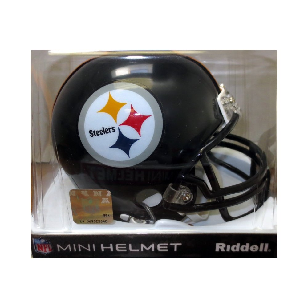 087dc442718 Riddell Pittsburgh Steelers Mini Helmet | Steel City Collectibles