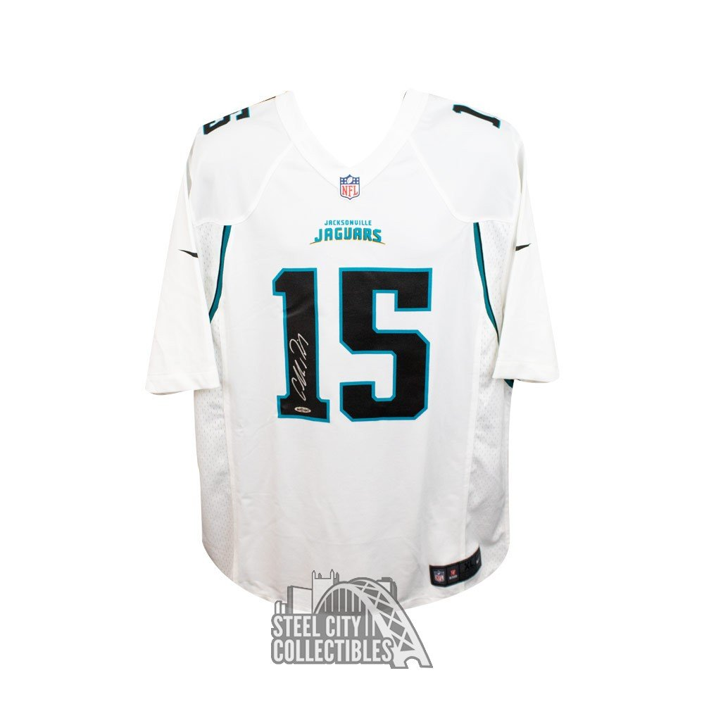 f04dd1626 Allen Robinson Autographed Jacksonville Jaguars White Nike Game ...