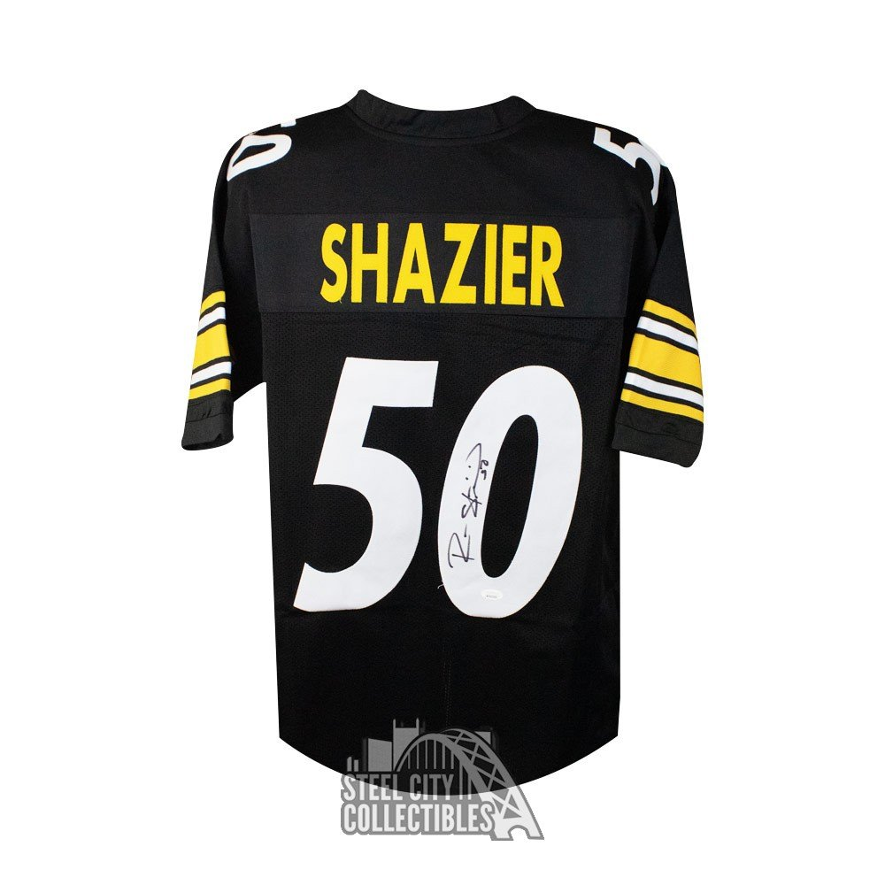best service 72bbf 59da3 Ryan Shazier Autographed Pittsburgh Steelers Custom Football Jersey - JSA  COA