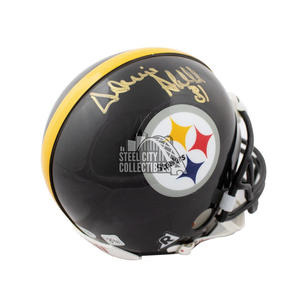 de71c633620 Donnie Shell Autographed Pittsburgh Steelers Mini Football Helmet - SCC COA  | Steel City Collectibles