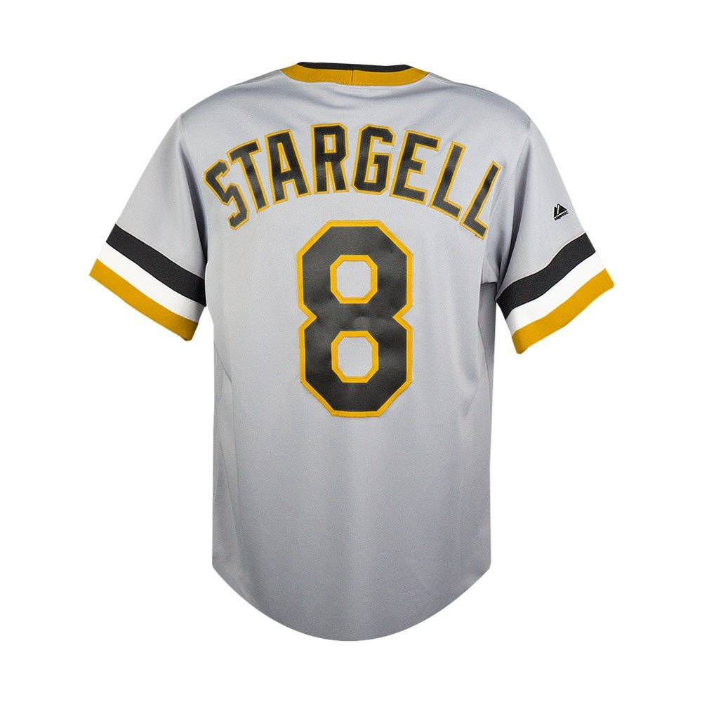new arrival 93b03 6bb64 Willie Stargell Pittsburgh Pirates Majestic Cooperstown Collection Replica  Jersey