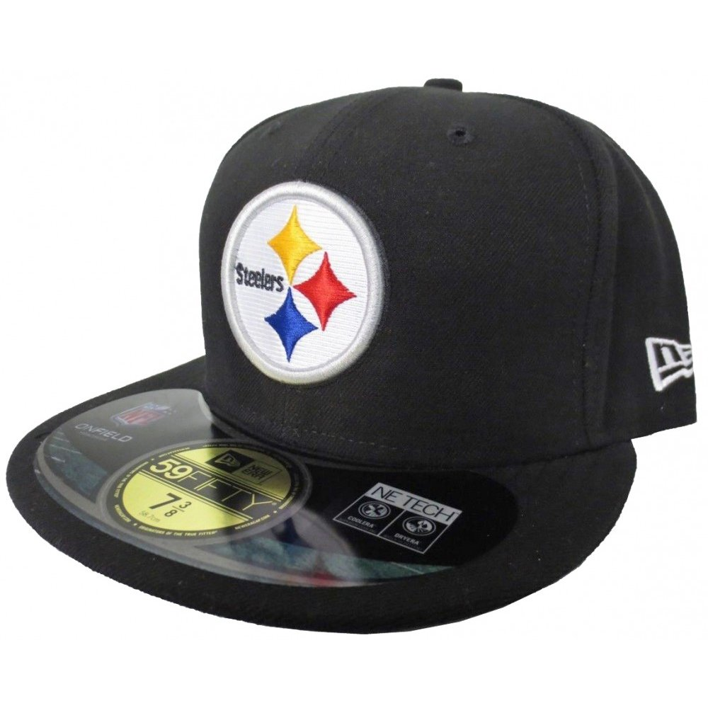 Pittsburgh Steelers New Era 59Fifty NFL On Field Fitted Hat a5f8d0490d5