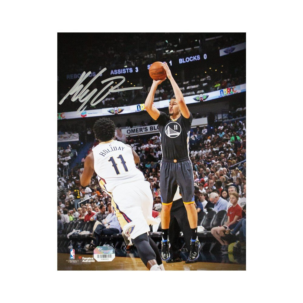 brand new 7f0af 14fc5 Klay Thompson Autographed Golden State Warriors 8x10 Photo - Fanatics