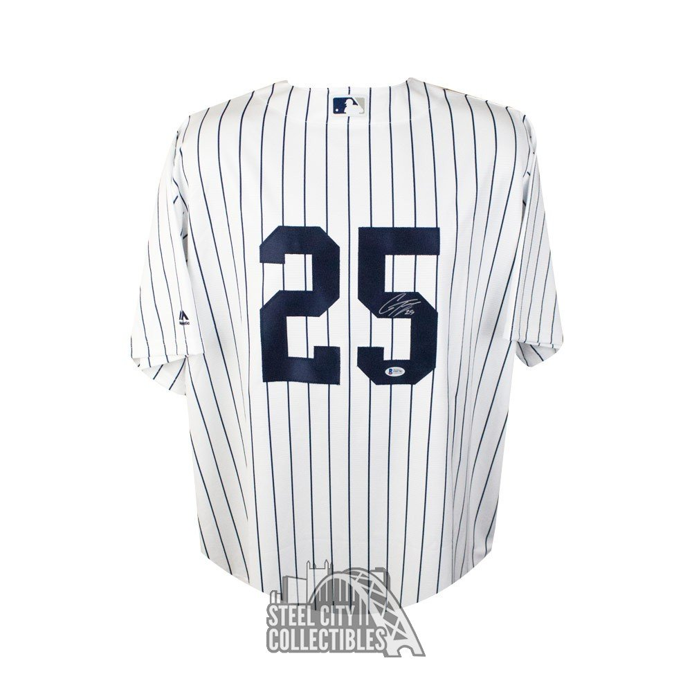 the latest 7125f 1c620 Gleyber Torres Autographed New York Yankees Majestic Baseball Jersey - BAS  COA