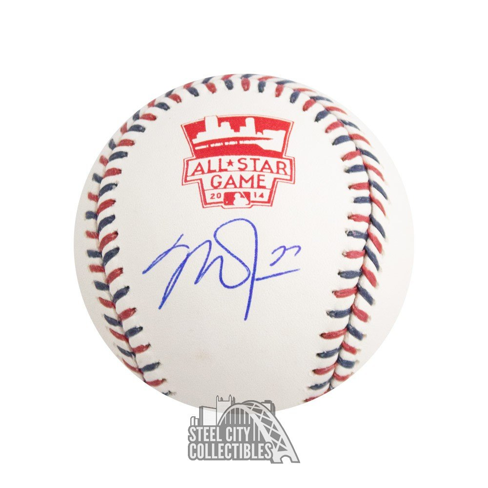 c44de09371f Mike Trout Autographed All Star Game Baseball - MLB Hologram