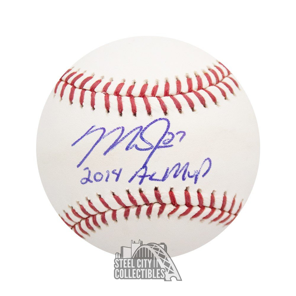 471e786e48e Mike Trout 2014 AL MVP Autographed Official MLB Baseball - MLB Hologram