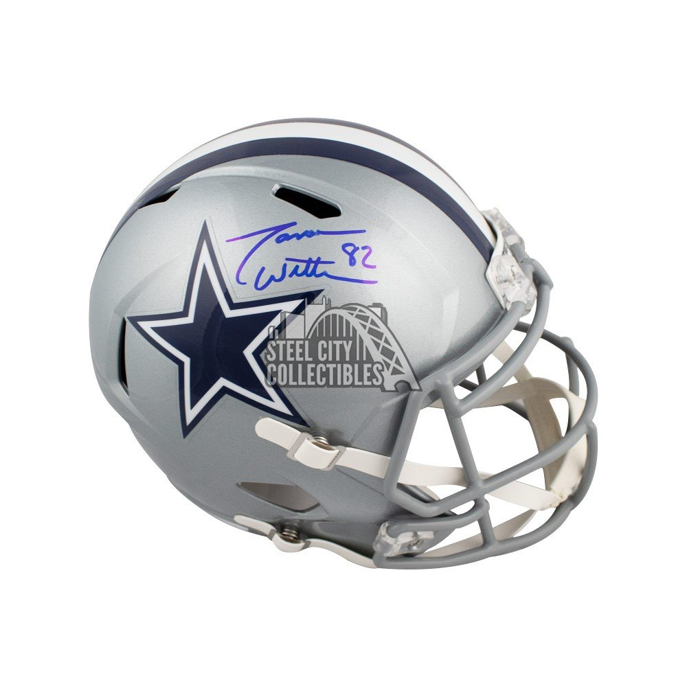 reputable site dc535 35a3a Jason Witten Autographed Dallas Cowboys Speed Full-Size Football Helmet -  BAS COA