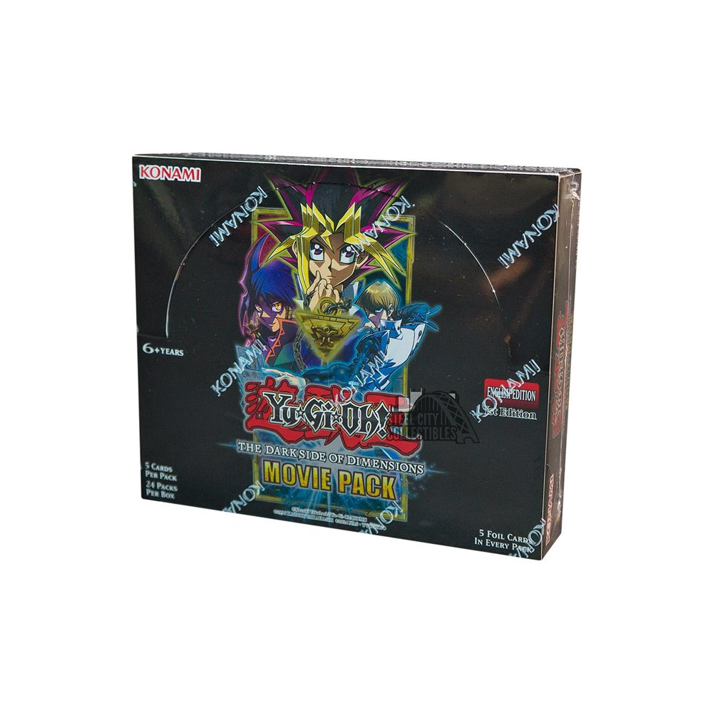 Konami Yu Gi Oh The Dark Side Of Dimensions Movie Pack Booster