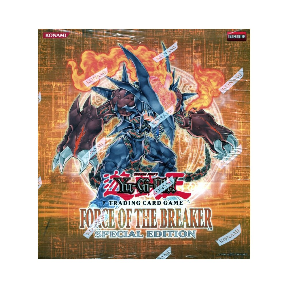 Konami Yu Gi Oh Force Of The Breaker Special Edition Box 1
