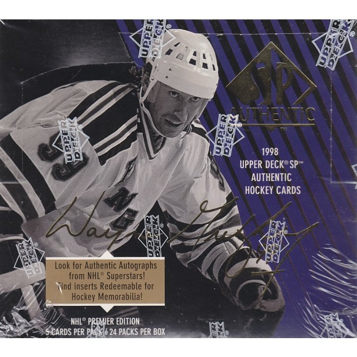the best attitude 598d4 8617f 1997-98 Upper Deck SP Hockey Authentic Hobby Box | Steel ...
