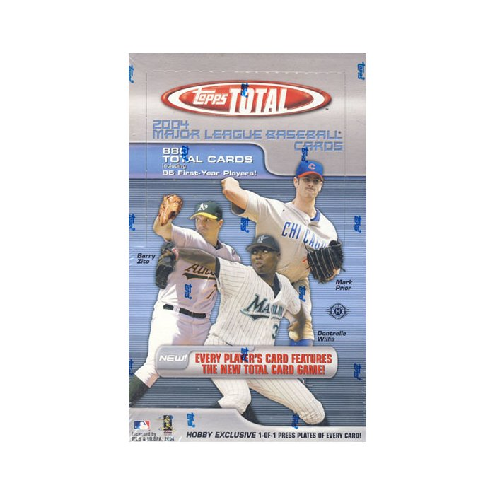2004 Topps Total Baseball Hobby Box Steel City Collectibles