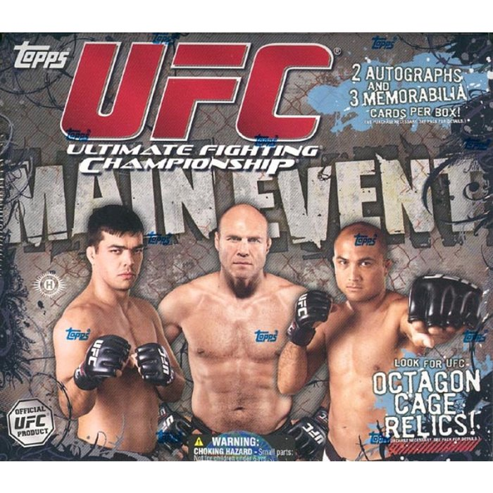2010 Topps UFC Main Event MASSIVE 24 Pack Factory Sealed Retail Box-AUTO//RELIC