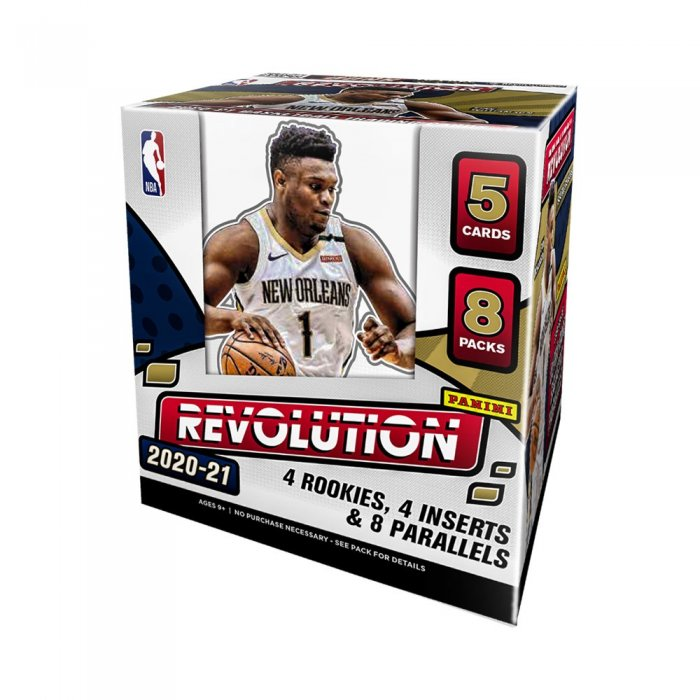 2018//19 Panini Revolution Basketball Factory Sealed Hobby Box