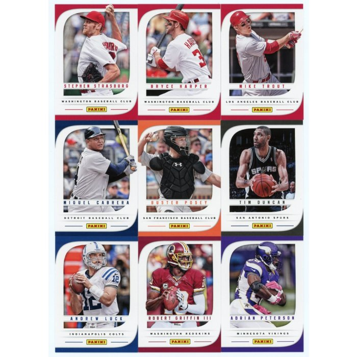 Rookies Coupons: 2013 Panini Father's Day Promo 22-Card Base Set