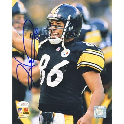 ee9b8983f Hines Ward Autographed Pittsburgh Steelers 8x10 Photo (Smiling) - JSA COA