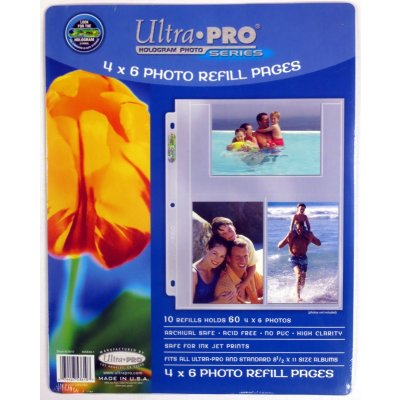 Ultra Pro 20 Pocket Coin Page Pack Of 10