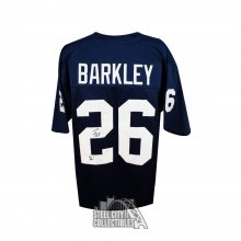 huge discount bd5d5 f02fd Saquon Barkley We Are Inscrip Autographed Penn State Custom Football Jersey  JSA